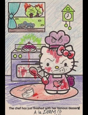Um....Hello Kitty are you okay?