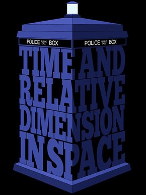 Time and Relative Typeface in Space