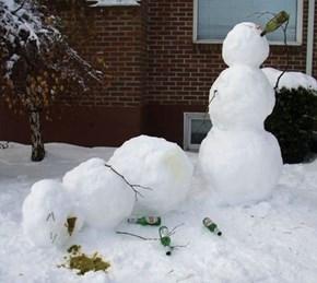 Damn Drunk Snowmen
