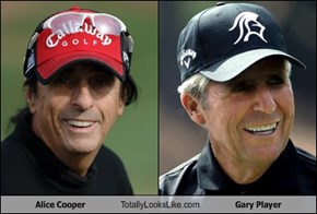 Alice Cooper Totally Looks Like Gary Player