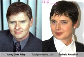 Young Dave Foley Totally Looks Like Isabella Rossellini