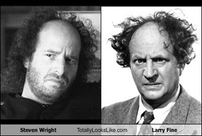 Steven Wright Totally Looks Like Larry Fine