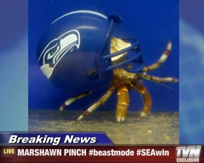 Breaking News - MARSHAWN PINCH #beastmode #SEAwin
