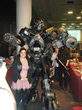 Check Out This Awesome Transformers Cosplay
