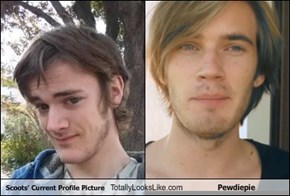 Scoots' Current Profile Picture Totally Looks Like Pewdiepie