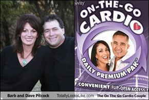 Barb and Dave Pitcock Totally Looks Like The On The Go Cardio Couple