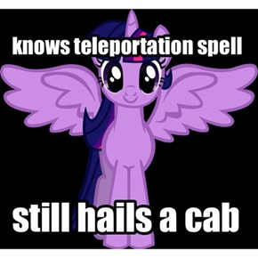Twilight needs to use her magic more