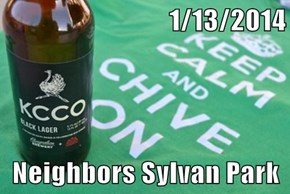 1/13/2014  Neighbors Sylvan Park