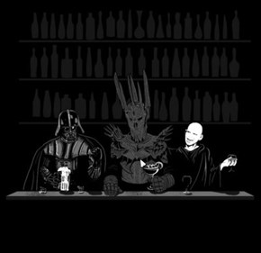 Three Dark Lords Walk Into A Bar...
