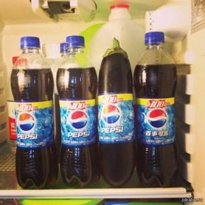 My Pepsi Tastes a Bit Odd...