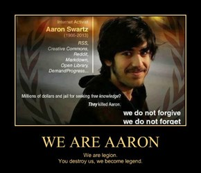 WE ARE AARON
