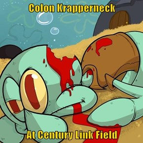 Colon Krapperneck  At Century Link Field