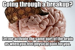 Scumbag Brain Knows Heartache is Real