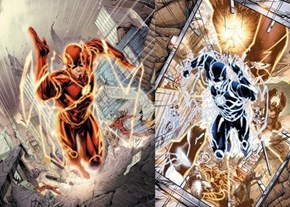 Wally West makes his NEW 52 first appearance