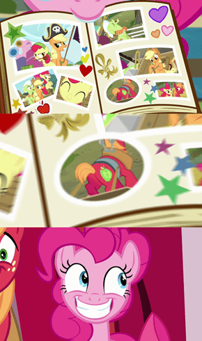 I see what you did there, Pinkie