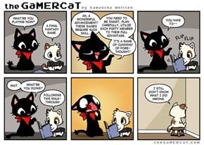 Bad Gamer Kitty!