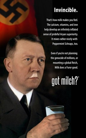 "The First ""Got Milch"" advertisement"