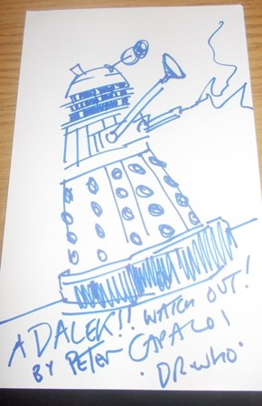 Dalek Drawn by Peter Capaldi