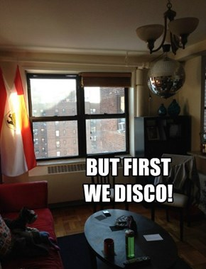 BUT FIRST WE DISCO!