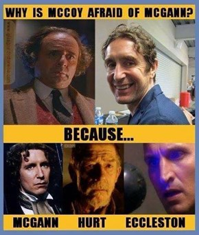 Why Is McCoy Afraid Of McGann?