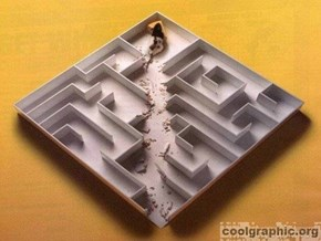 That's just a-maze-ing!