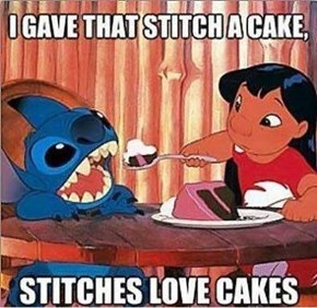 Stitches Get Snacks