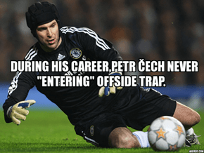 Little Fact About Petr Čech.