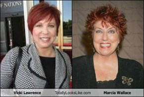 Vicki Lawrence Totally Looks Like Marcia Wallace