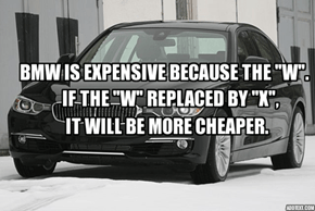 Little Fact About BMW.