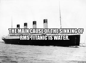 Little Fact About RMS Titanic.