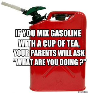 Little Fact About Gasoline.