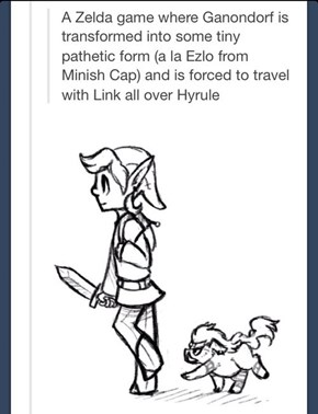 This Would Be a Pretty Awesome Zelda Game