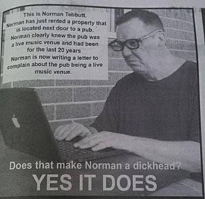 Screw You Norman