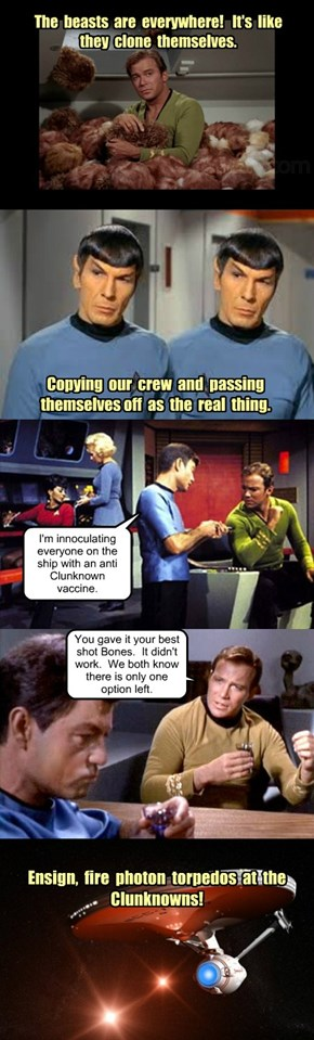 Star Trek Episode - The Clunknowns