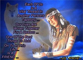 WOVEN BY THE GREAT SPIRIT...