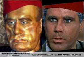 "Benito Mussolini Totally Looks Like Austin Powers' ""Mustafa"""