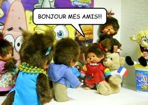 BONJOUR MES AMIS!!!