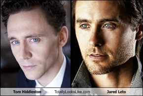 Tom Hiddleston Totally Looks Like Jared Leto