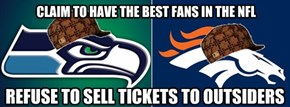CLAIM TO HAVE THE BEST FANS IN THE NFL