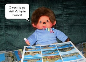 I want to go visit Cathy in France!