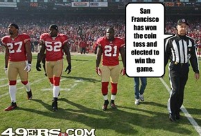 Now Let's Go Get Some Nachos! Go Niners!