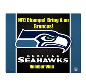 NFC Champs!  Bring it on Broncos!