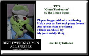 """Green Cuddly Thing"" (TTO ""Green Tambourine"" by The Lemon Pipers)"
