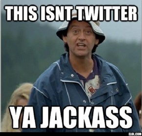 For everyone using hashtags here...