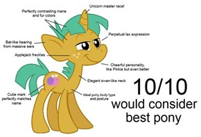 Why Snails is Best Pony