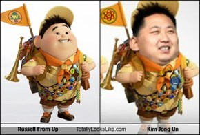 Russell From Up Totally Looks Like Kim Jong Un
