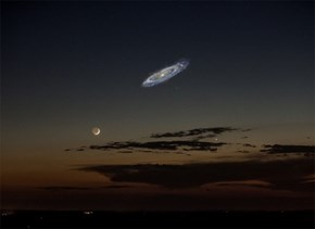 What it Would Look Like If You Could See Andromeda in the Sky