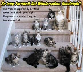 So long, Farewell, Auf Wiedersehen, Goodnight!