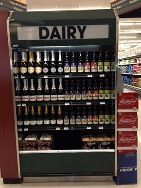 Dairy, Now In Red and White