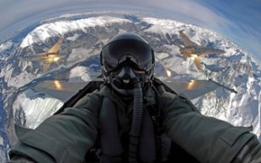 A Selfie in the Danger Zone
